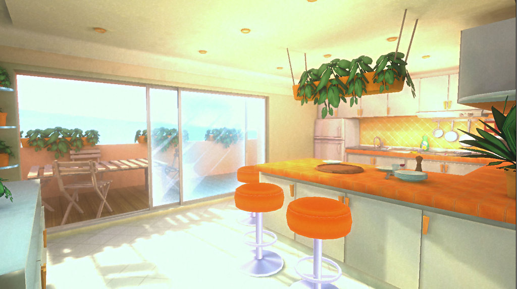 compagny color theme kitchen view1