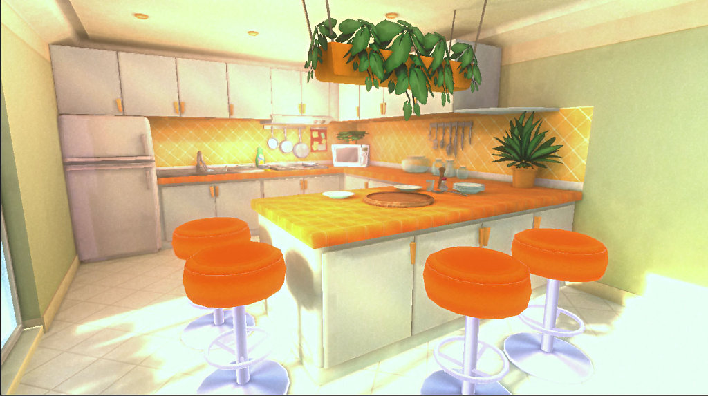 compagny color theme kitchen view2